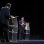 Candidatos presidenciales debaten en auditorio del Museo Nacional de Niños